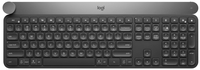 Logitech Craft RF Wireless + Bluetooth QWERTY UK English Black, Grey