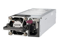 Hewlett Packard Enterprise 500W Flex Slot Platinum Hot Plug Low Halogen 500W Grey power supply unit