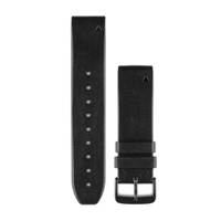 Garmin QuickFit 22 Watch bracelet Leather Black