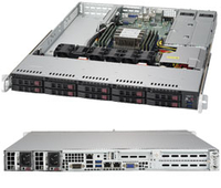 Supermicro SuperServer 1019P-WTR Intel C622 LGA 3647 1U Black