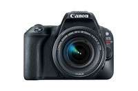 Canon EOS Rebel SL2 + EF-S 18-55mm f/4-5.6 SLR Camera Kit 24.2MP CMOS 6000 x 4000pixels Black