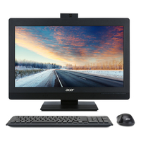 "Acer Veriton VZ4820G-I5740 AIO 23.8IN 3GHz i5-7400 23.8"" 1920 x 1080pixels Black All-in-One PC"