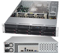 Supermicro SuperServer 6029P-TRT Intel C622 LGA 3647 2U Black