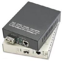 Add-On Computer Peripherals (ACP) ADD-GMC-2RJSFP-POE Gigabit Ethernet 120V PoE adapter