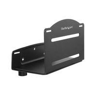 StarTech.com CPUWALLMNT Wall-mounted CPU holder Black CPU holder