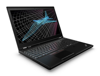 "Lenovo ThinkPad P50 15.6"" Black Mobile workstation"