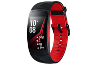 "Samsung Gear Fit2 Pro 1.5"" SAMOLED GPS (satellite) Noir, Rouge montre intelligente"