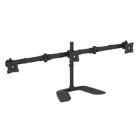 "StarTech.com ARMBARTRIO2 27"" Clamp Black flat panel desk mount"