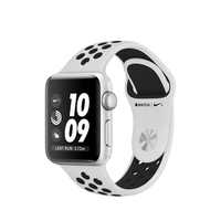 Apple Watch Nike+ OLED GPS Zilver smartwatch
