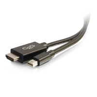 C2G 54422 3.04m Mini DisplayPort HDMI Black video cable adapter