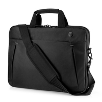 "HP 14.1 Business Slim Top Load 14.1"" Briefcase Black"
