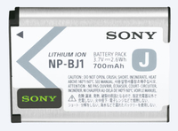 Sony NP-BJ1 Lithium-Ion (Li-Ion) 700mAh 3.7V rechargeable battery