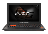 "ASUS ROG Strix GL553VE-FY044T-BE 2.8GHz i7-7700HQ 15.6"" 1920 x 1080pixels Noir Ordinateur portable"