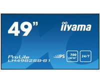 "iiyama LH4982SB-B1 49"" LED Full HD Noir affichage de messages"