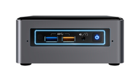 Intel NUC NUC7I5BNHXF 2.2GHz i5-7260U Nettop Black, Grey Mini PC