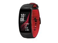 "Samsung Gear Fit2 Pro 1.5"" SAMOLED GPS (satellite) Black, Red smartwatch"