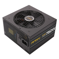 Antec EA750G Pro-EC 750W ATX Zwart power supply unit