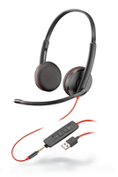 Plantronics Blackwire 3225 Binaural Head-band Black headset
