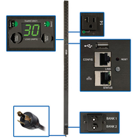Tripp Lite PDUMVR30NETLX 24AC outlet(s) 0U Black power distribution unit (PDU)
