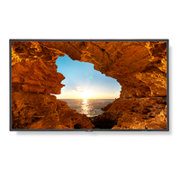 "NEC V484-AVT2 48"" LED Full HD Black signage display"