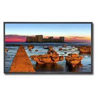 "NEC MultiSync X551UHD-AVT2 Digital signage flat panel 55"" LED 4K Ultra HD Black signage display"