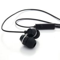 Verbatim 99774 In-ear Binaural Wired Black mobile headset