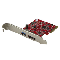 StarTech.com PEXUSB311A1E Internal USB 3.1, eSATA interface cards/adapter