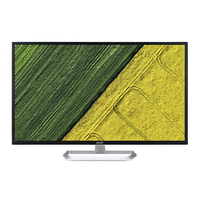 "Acer EB321HQ Abi 31.5"" Full HD LED Flat Black computer monitor"