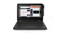 "Lenovo 300e 1.10GHz N3450 Intel® Celeron® 11.6"" 1366 x 768pixels Touchscreen Black Hybrid (2-in-1)"