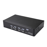 StarTech.com SV431DPUA2 1U Black KVM switch
