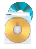 Fellowes 90661 DVD case 2discs Transparent optical disc case