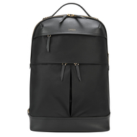Targus Newport Leatherette, Nylon Black backpack