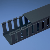 Panduit G3X2IB6 Straight cable tray Black cable tray