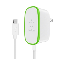 Belkin F7U009tt06-WHT Indoor Grey, White mobile device charger