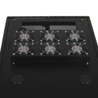 Tripp Lite SRXFANROOF Black hardware cooling accessory