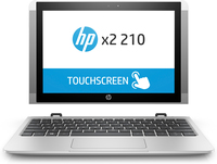 "HP x2 210 G2 1.44GHz x5-Z8350 10.1"" 1280 x 800Pixels Touchscreen Zilver Hybride (2-in-1)"