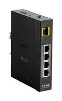 D-Link DIS‑100G‑5PSW Unmanaged L2 Gigabit Ethernet (10/100/1000) Power over Ethernet (PoE) Black