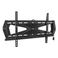 "Tripp Lite DWFSC3780MUL 80"" Black flat panel wall mount"