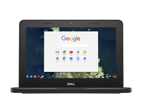 "DELL Chromebook 5190 1.10GHz N3350 Intel® Celeron® 11.6"" 1366 x 768pixels Black, Grey Chromebook"