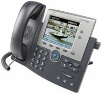 Cisco 7945G Wired handset TFT Grey, Silver IP phone
