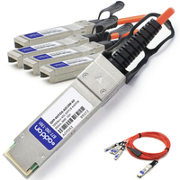 Add-On Computer Peripherals (ACP) QSFP-4SFP25G-AOC10M-AO 10m QSFP28 4xSFP28 InfiniBand cable