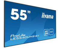 "iiyama LE5540UHS-B1 54.6"" LED 4K Ultra HD Noir affichage de messages"