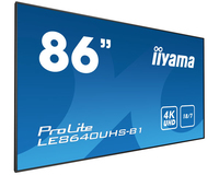 "iiyama LE8640UHS-B1 86"" LED 4K Ultra HD affichage de messages"