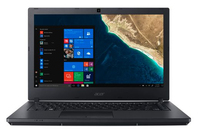 "Acer TravelMate P2410-G2-M-55HN 1.6GHz i5-8250U 14"" 1366 x 768pixels Black Notebook"