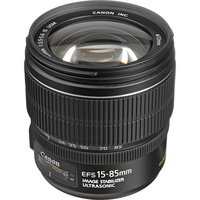 Canon EF-S 15-85mm f/3.5-5.6 IS USM Black