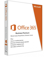 Microsoft Office 365 Business Premium 1license(s) 1year(s) English