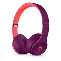Apple Beats Solo3 Head-band Binaural Wired & Wireless Magenta, Pink mobile headset
