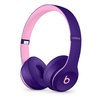 Apple Beats Solo3 Head-band Binaural Wired & Wireless Pink, Violet mobile headset