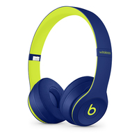 Apple Beats Solo3 Head-band Binaural Wired & Wireless Indigo, Lime mobile headset