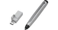 Sharp PN-ZL01A stylus pen Black,Stainless steel